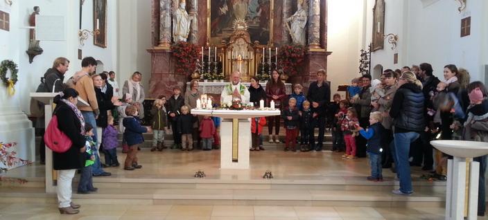 Familiengottesdienst und Kinderkirche
