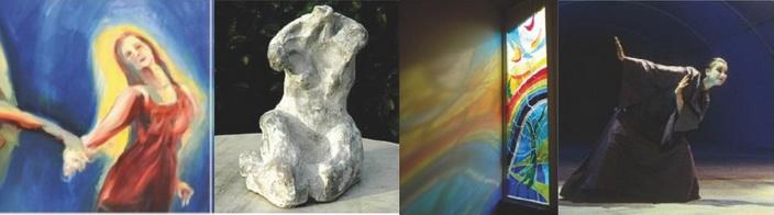 Leben zwischen Spiritualität und Theater – Ausstellung vom 21.09. bis 18.10.2014