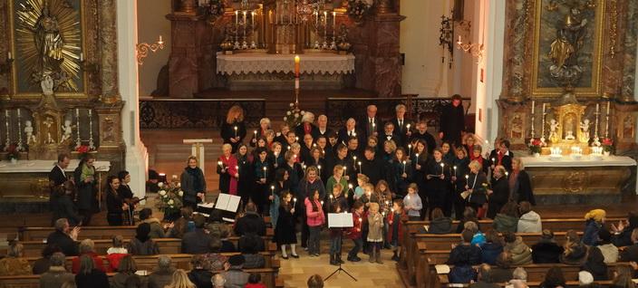 Kirchenkonzert aller Musiker der Pfarrgemeinde