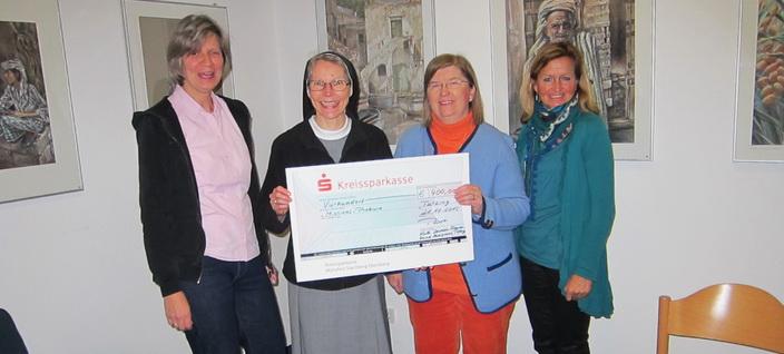 Frauenbund gibt Spende ans Kloster