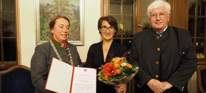 Hausenstein-Preis für Helene von Rechenberg