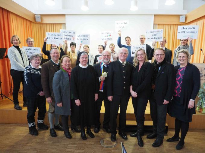 Neujahrsempfang der Pfarrgemeinde