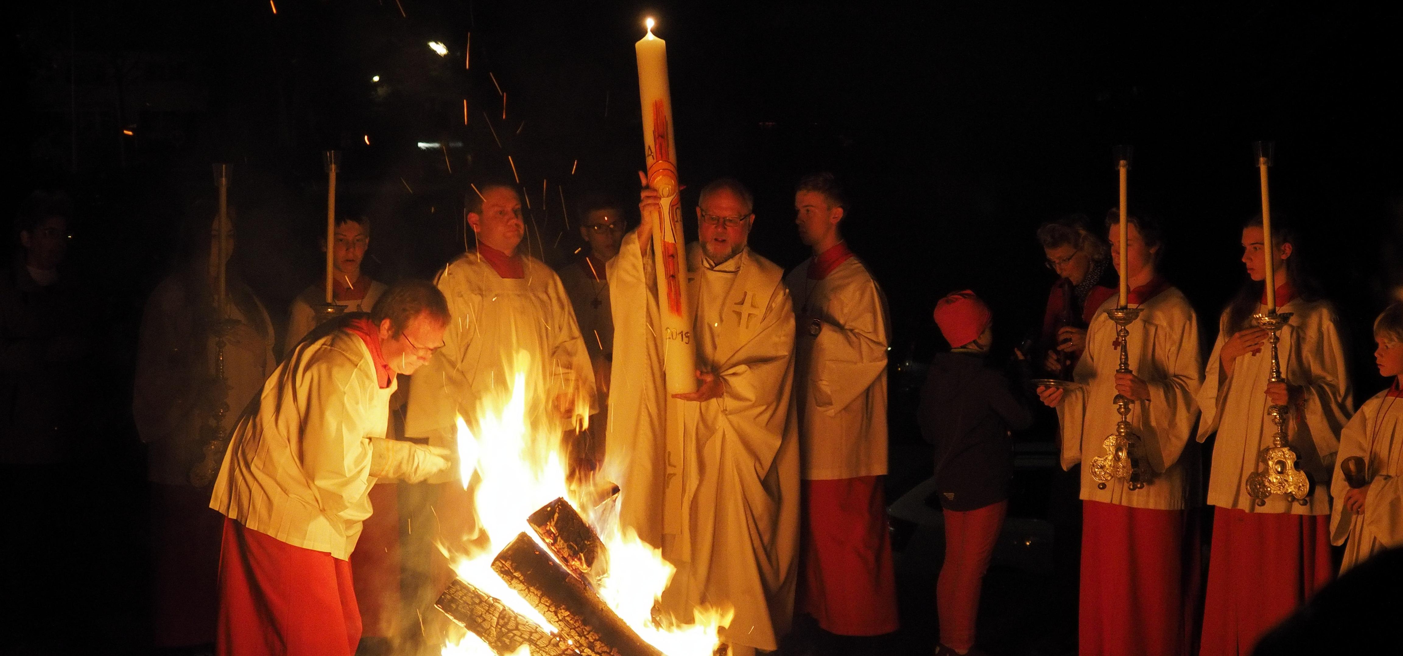 Feier der Osternacht