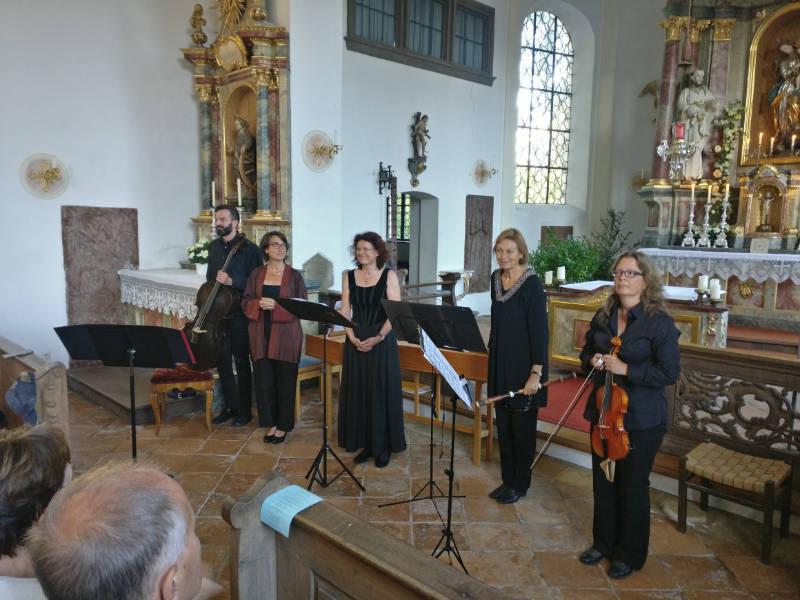 Sommerliches Konzert mit Englischer Barockmusik am Sonntag, 23.6. in der Alten Pfarrkirche Peter und Paul