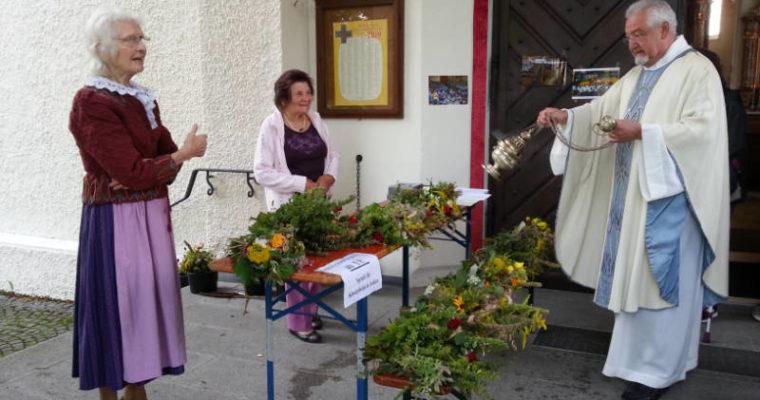 Kräuterweihe zu Maria Himmelfahrt