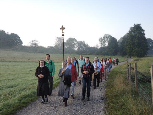Friedenswallfahrt nach Kloster Andechs