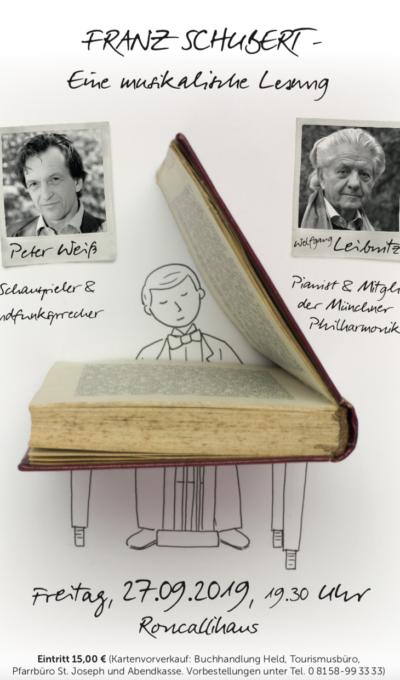 Franz Schubert – eine musikalische Lesung am 27.09.2019
