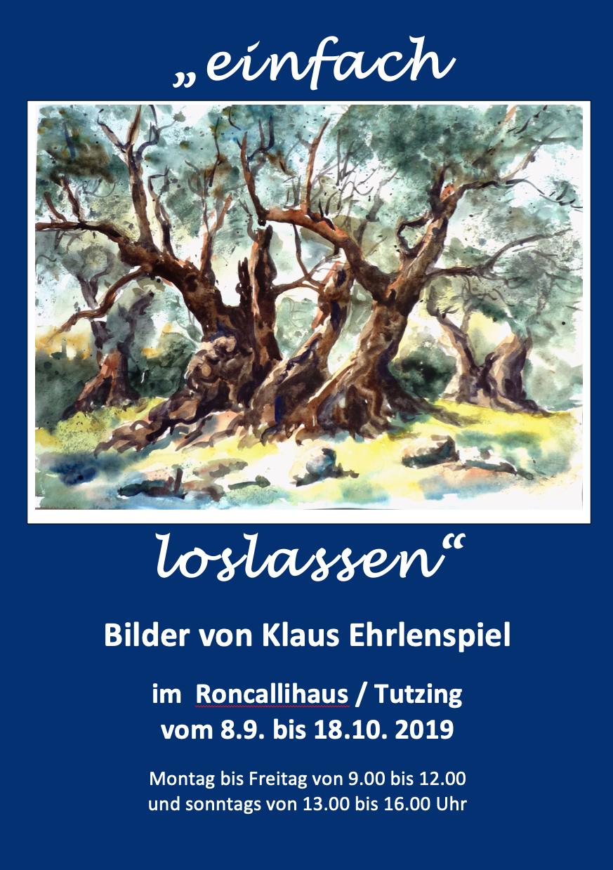 BILDER VON KLAUS EHRLENSPIEL VOM 08.09. BIS 18.10