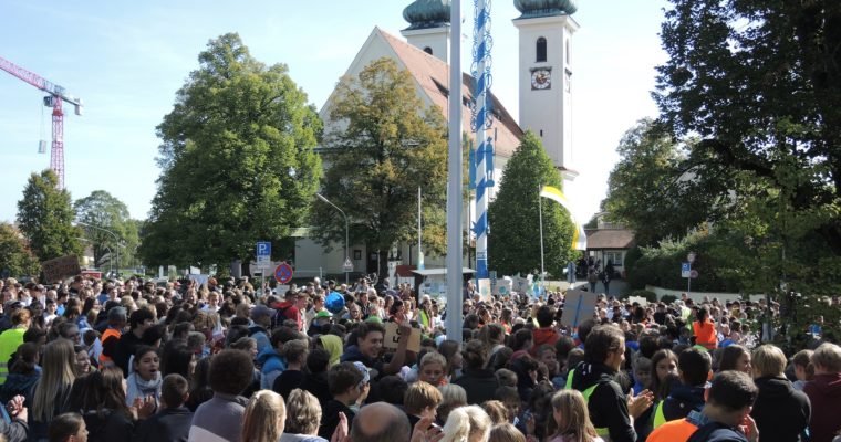 Friday for Future in Tutzing