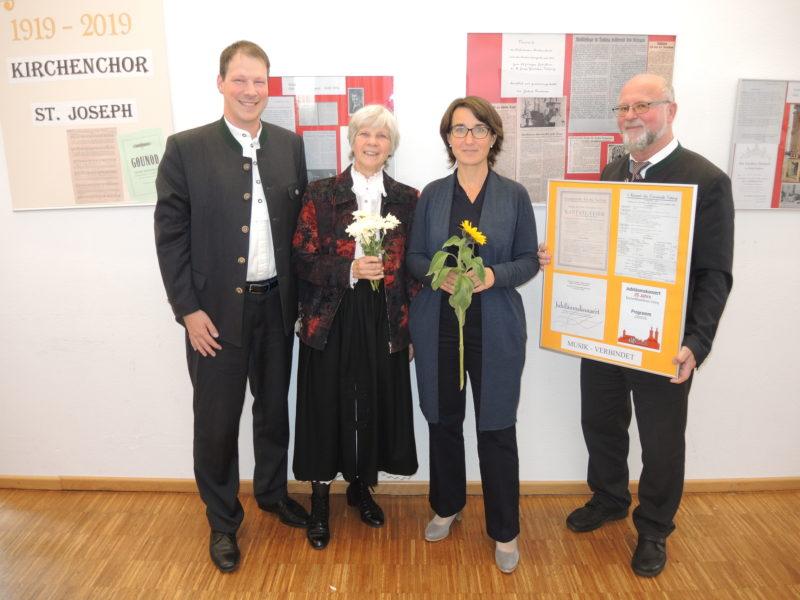 """Ausstellung """"100 Jahre Kirchenchor St. Joseph"""""""