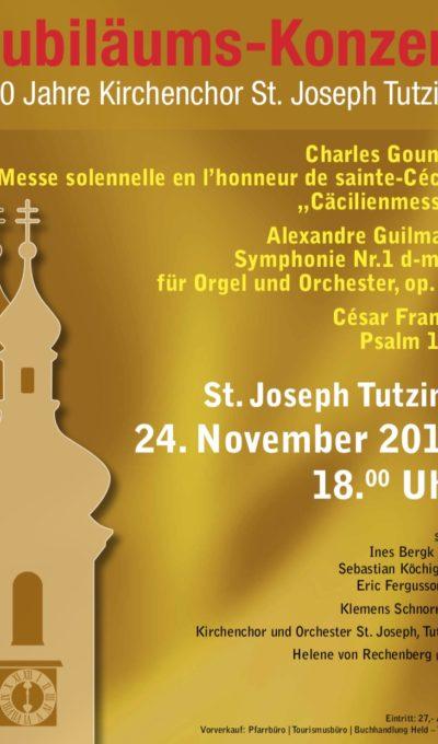 Jubiläums-Konzert – 100 Jahre Kirchenchor am 24.11.