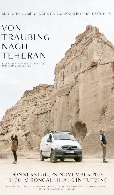 Von Traubing nach Teheran am 28.11.