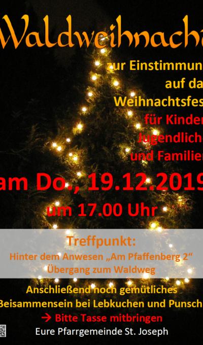 Waldweihnacht am 19.12.2019