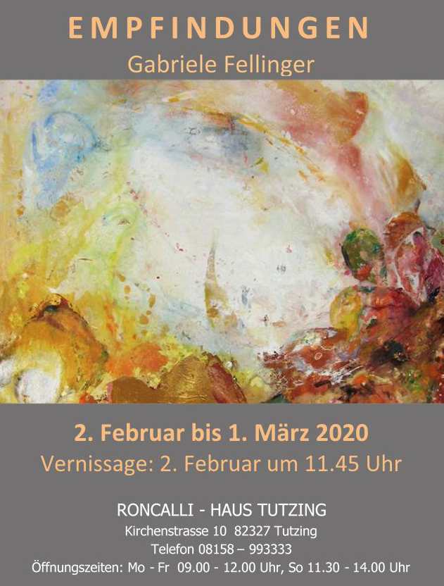 Vernissage Gabriele Fellinger 02.02.2020