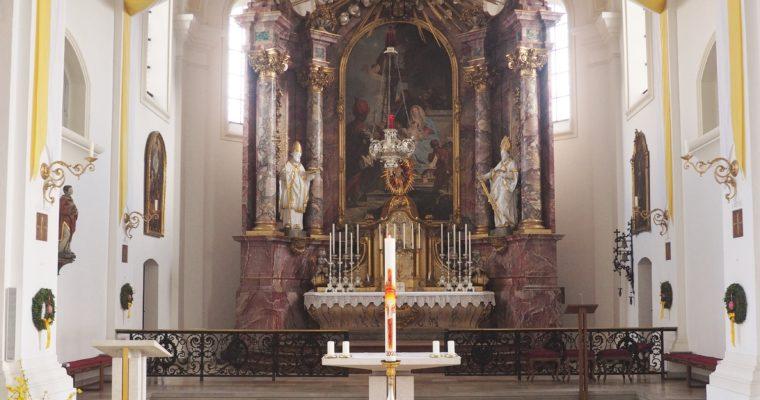Karwoche und Ostern in Sankt Joseph