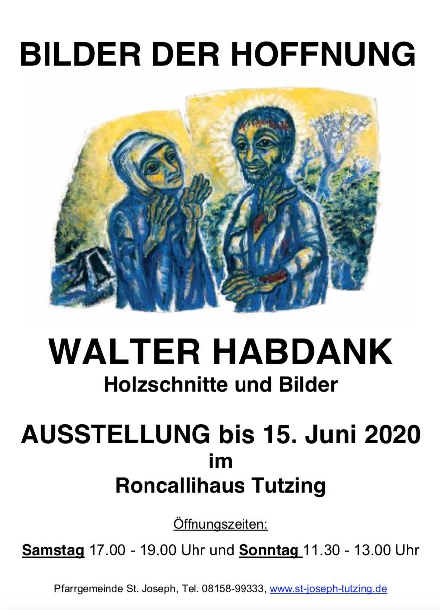 Ausstellung Bilder der Hoffnung bis 15.06.2020