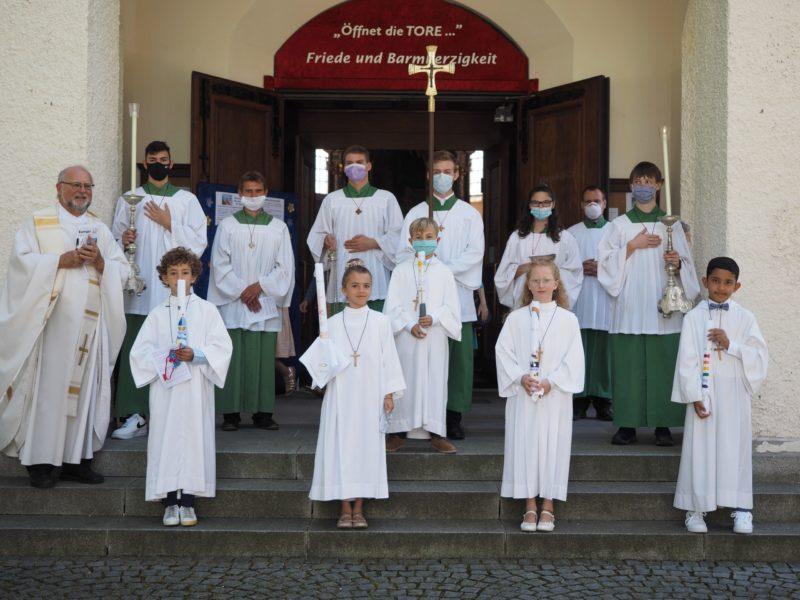 Erstkommunion unter Corona-Bedingungen