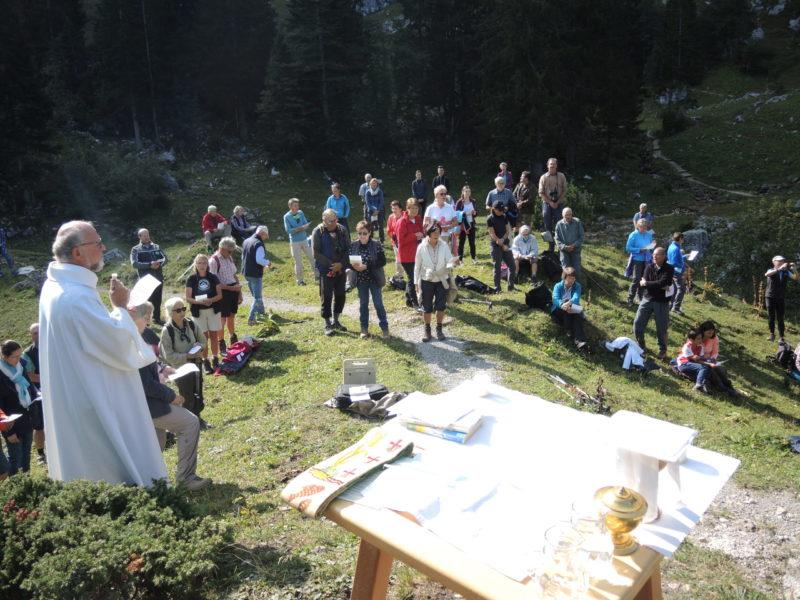 Bergmesse an der Tutzinger Hütte
