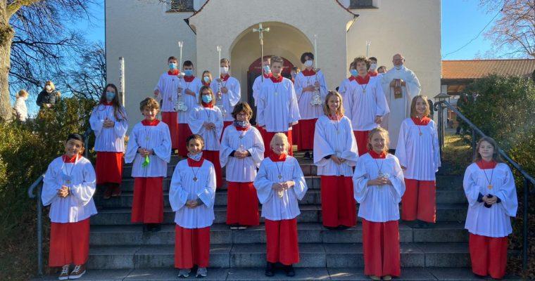 Neue Minis in St. Joseph