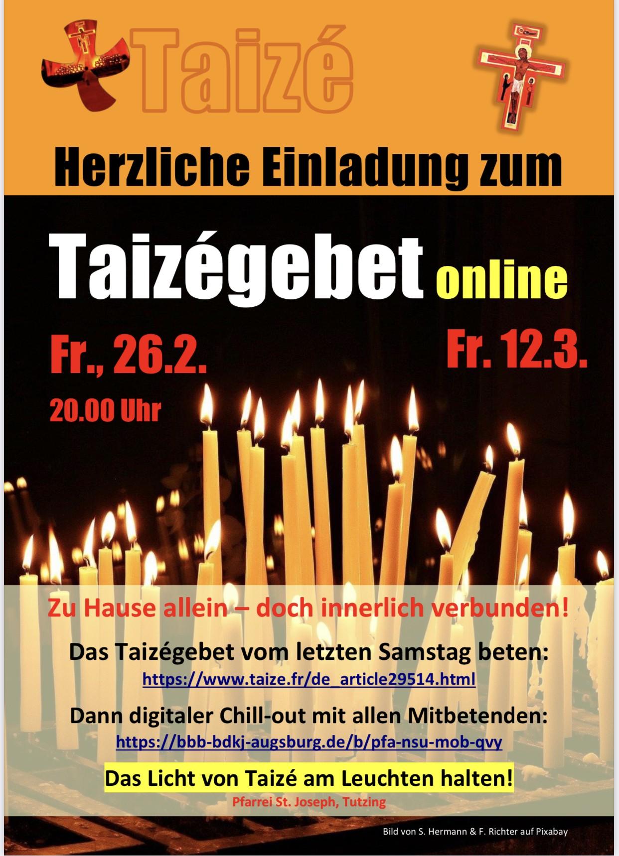 Taizé-Gebet online
