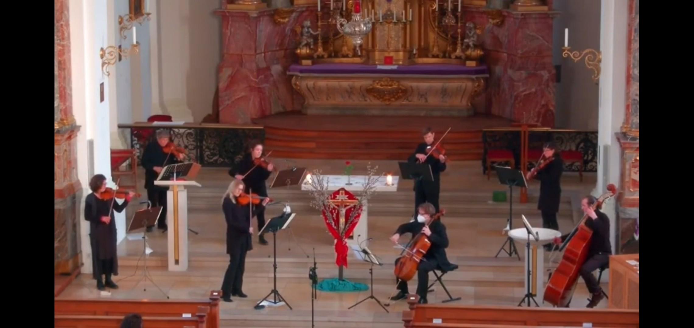 Kirchenmusikalische Andacht zur Einstimmung in die Karwoche