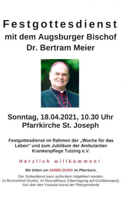 Festgottesdienst mit Bischof Dr. Bertram Meier