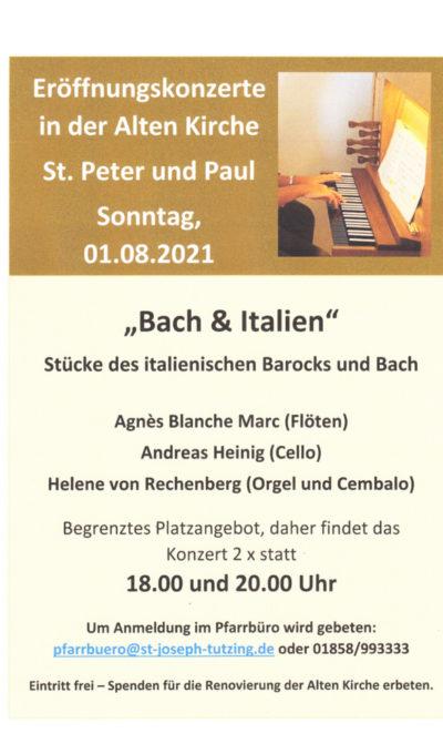 Eröffnungskonzerte in der Alten Kirche    St. Peter und Paul